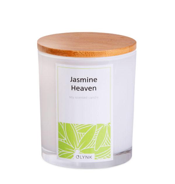 Świeca zapachowa z wosku sojowego: JASMINE HEAVEN
