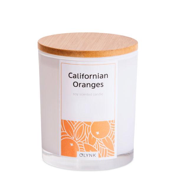 Świeca zapachowa z wosku sojowego: CALIFORNIAN ORANGES
