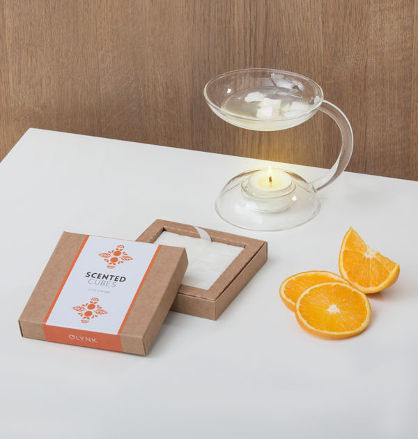 Zapach Soczystej Pomarańczy zatopiony w woskach zapachowych