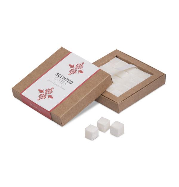 Aromaterapia zapach lasu pełnego mchu w kostkach sojowych 25 sztuk