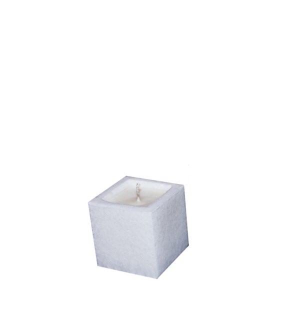 świeca w lampionie wosk sojowy
