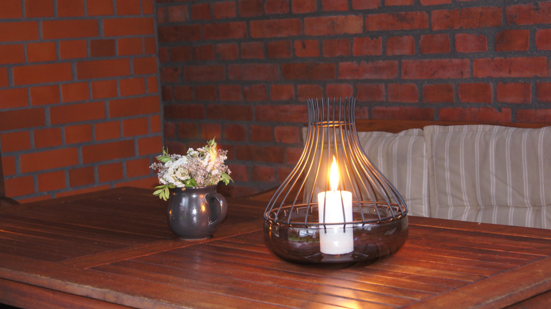 świece sprzyjające na ogród